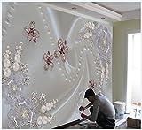 Tapete Experten TV Hintergrund Mauer paper3dthe Stereo minimalistische Moderne Luxus-High-End Seamless Wohnzimmer Fototapete Diamanten,