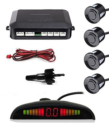 Porsche Models Reverse Rear Parking Sensor Aid Kit LED Buzzer