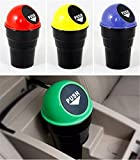 #2: Synergy Collection Useful and Beautiful Portable Mini Waste Bin / dust bin / Trash Can / Garbage Bin For Car, to be kept on the study table of your kids, Also can be kept in your car. Made of Durable High Quality Plastic