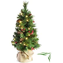 Weihnachtsbaum Klein Geschmückt.Suchergebnis Auf Amazon De Für Beleuchteter Deko Tannenbaum Klein