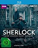 Sherlock - Staffel 4 (exklusiv bei Amazon.de) [Blu-ray] [Limited Edition] - Mit Benedict Cumberbatch, Martin Freeman