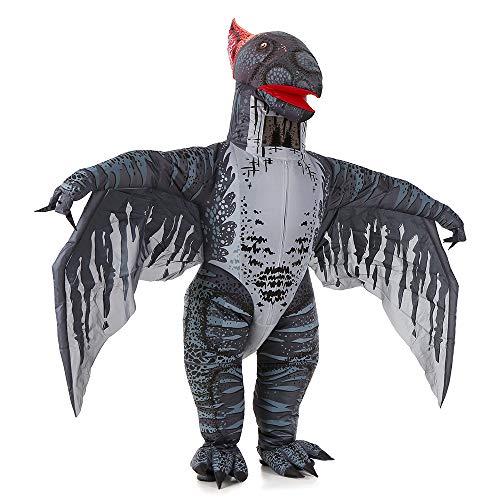 homese Erwachsene Flugsaurier aufblasbare Kostüm Requisiten sprengen aufblasbare Kostüm für Halloween Cosplay Party Stage Performance