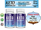 Vokin Biotech Keto Natural Advanced Fat Burner Weight Loss Supplement with
