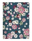 Ladytimer Flower Love 2020 - Blumen - Taschenkalender A6 (11 x 15) - Weekly - 192 Seiten - Notizbuch - Terminplaner