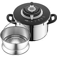 SEB NUTRICOOK + Cocotte-minute 6L inox induction Autocuiseur Fabriqué en France Facile à utiliser Programme de cuisson…
