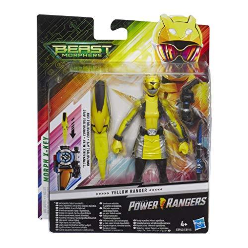 Power Ranger E5943ES1 PRG Yellow Ranger 15,2 cm, Mehrfarbig
