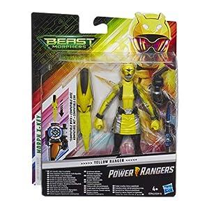 Power Rangers- Figura de acción Beast Morphers Ranger Amarillo 15 cm, Multicolor (Hasbro E5943ES0)