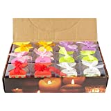 #10: Skycandle 12 Pcs Votive Candles Fragrances Rose/ Jasmine/ Lavender/ Apple/ Strawberry/ Orange)