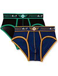 Force NXT Men's Solid Brief (Pack of 2)