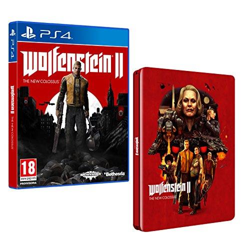 Wolfenstein 2: The New Colossus - Edizione Steelbook...