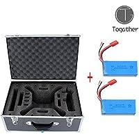 Togather® 2016 nuevo negro llevar caso bolsa caja contenedor para Syma X8HW X8HG X8HC X8c X8w X8g Rc Quadcopter Drone