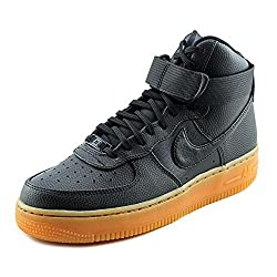 Nike Air Force 1 Hi Women US 7.5 Black Basketball Shoe