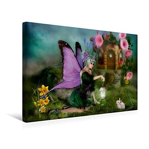 Calvendo Premium Textil-Leinwand 45 cm x 30 cm quer, Der Frühling ist da | Wandbild, Bild auf Keilrahmen, Fertigbild auf echter Leinwand, Leinwanddruck Kunst Kunst -