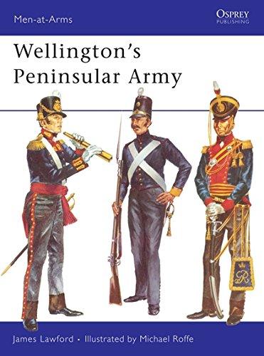 Wellington's Peninsular Army (Men-at-Arms) por James Lawford