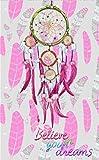 Togelei 5D Stickerei Gemälde Strass Eingefügt DIY Diamant Malerei Kreuzstich Traumfänger Diamant Zeichnung DIY handgefertigt Vollbohrer Diamant Set Muster Kunstharz Strasssteine eingefügt Kreuzstich