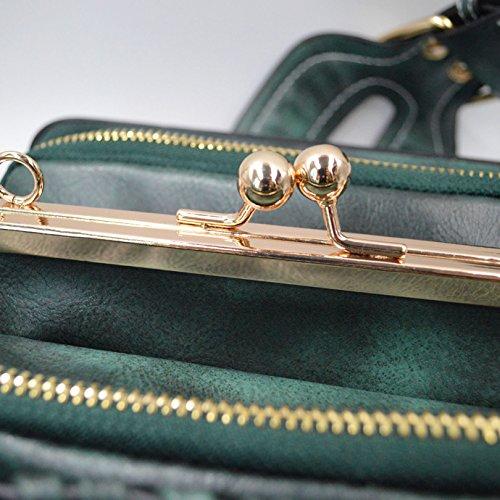 Millya , Damen Clutch, grün (grün) - kb-00359-01 grün