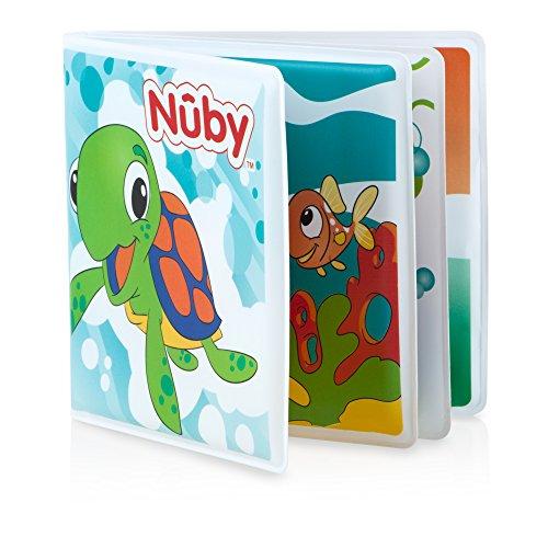 Nûby - Libro de Baño para Bebé - 6 Meses
