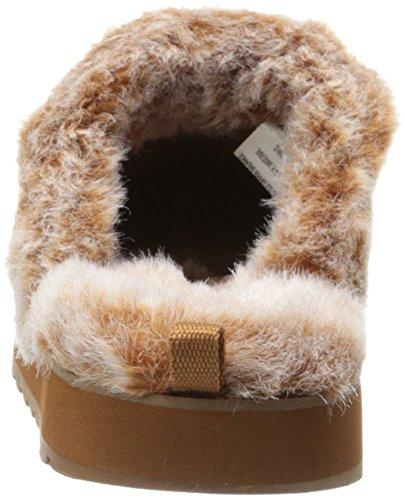 Skechers - Keepsakes - Winter Wonder, Ciabatte Donna Chestnut