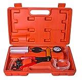 Iso Trade Bremsentlüftungspumpe Vakuumpumpe Test Set Entlüftungsschlauch Ventilrohr Entlüftungswerkzeug 8743
