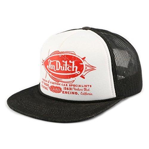 von-dutch-cappellino-da-baseball-uomo-bianco-taglia-unica
