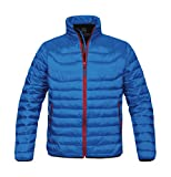 StormTech: Ladies` Altitude Jacket PFJ-3W, Größe:2XL;Farbe:Electric Blue/Flame Red