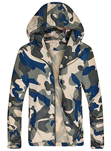 AZBRO Essential Solid Moto Jacke für Herren White-2