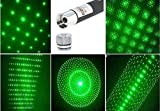 Star Generic Laser Disco Pointer Pen with Adjustable Cap (Green)