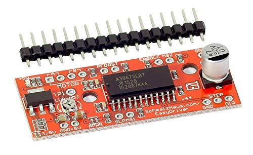 MissBirdler, EasyDriver V4.4 A3967, shield, driver per motore passo passo per Arduino Raspberry Pi