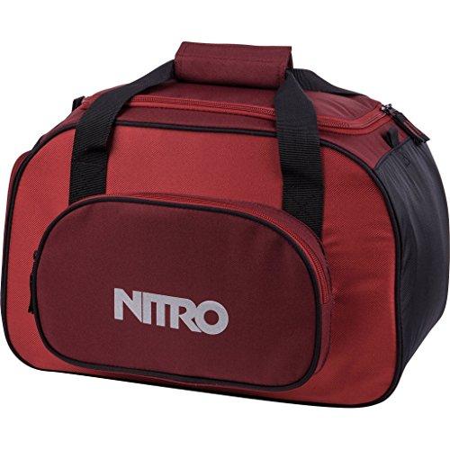 Nitro Sporttasche Duffle Bag XS, Schulsporttasche, Reisetasche, Weekender, Fitnesstasche,  40 x 23 x 23 cm, 35 L, 1131-878019_ Chili