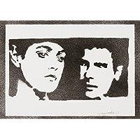 Blade Runner Rachael Und Rick Handmade Street Art - Artwork - Poster