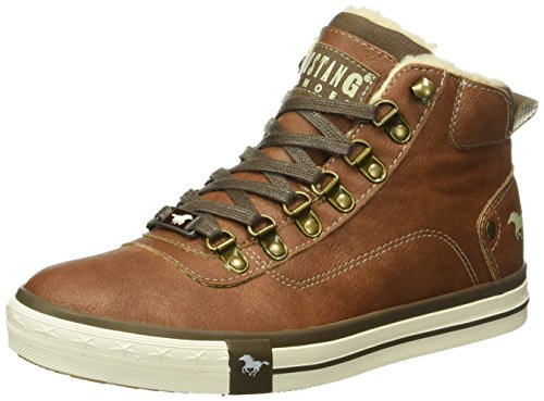 Mustang Unisex-Kinder 5024-604-301 High-Top, Braun (301 kastanie), 35 EU