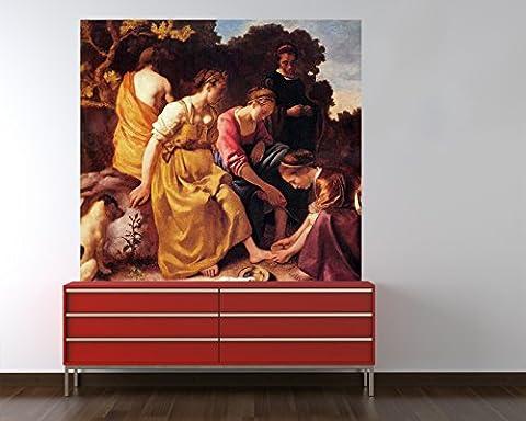 Bilderdepot24 Photo Wallpaper - Wall Mural Jan Vermeer - Old