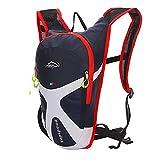 West Biking - Mini mochila para deportes al aire, ciclismo, camping, senderismo, running, mujer hombre Niños, azul oscuro