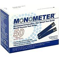 Preisvergleich für Monometer Blutzucker-teststreifen P plasma-äquiv. 2X25 stk