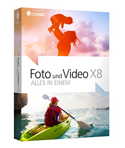 Corel Foto&Video X8 Alles in Einem