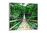 Bild auf Glas - Glasbilder - Einteilig - Breite: 70cm, Höhe: 70cm - Bildnummer 3185 - zum Aufhängen bereit - Bilder - Kunstdruck - GAC70x70-3185