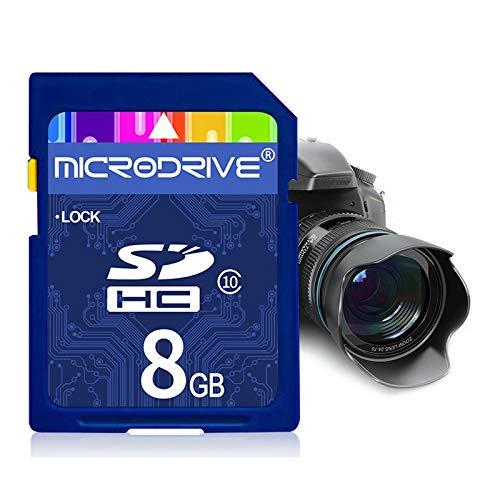 Mircodrive 8 GB High Speed   Class 10 SD-Speicherkarte für alle digitalen Geräte mit SD-Kartensteckplatz Durable
