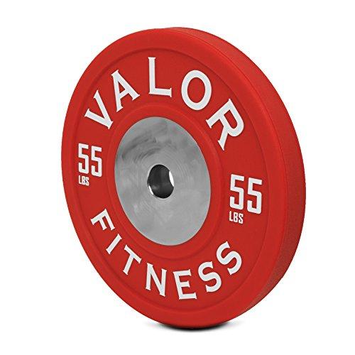 Valor Fitness bppu-55Bumper Plate Polyurethan (Verkauft Einzeln), 55Lb
