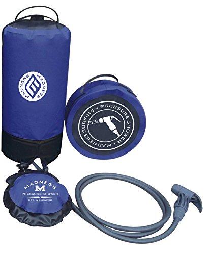 Madness Locura Unisex presión 10–15L portátil ducha, talla única,...
