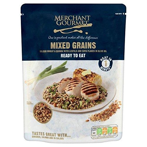 Merchant Gourmet Prêt à Consommer Céréales mélangées Sains (250g) - Paquet de 2