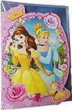 Disney Princess - Prinzessinnen auf der Party - Geburtstagskarte mit Glitzereffekt