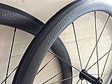 AWST basalt Oberfläche Bohrmulden-Laufradsatz Full Carbon Rollen 25mm Breite 45mm Bohrmulden-Räder mit R36Hub 45mm-Whels-Rollen Clincher R39 hubs