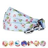 Blueberry Pet Langlebige Feder Duft Inspiriert Floral Hund Leine, Passendes Halsband und Hundegeschirr Separat erhältlich, 4' * 1