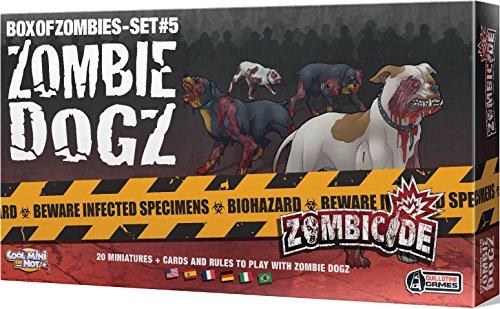 Cool Mini or Not 901564 - Zombicide - Zombie Dogz, ()