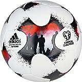 adidas Europeanqgli, Pallone da Calcio Uomo, (Bianco/Rojsol/Nero), 3