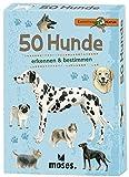 moses. Expedition Natur - 50 Hunde | Bestimmungskarten im Set | Mit spannenden Quizfragen