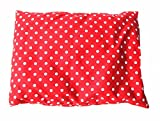 Kräuterkissen Schlafkissen Erkältung Miniblings 25x20cm rot Punkte Polka Dots