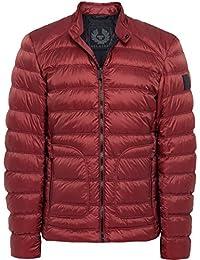 Belstaff Hombres chaqueta cazadora de halewood Cardenal Rojo