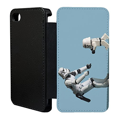 Stormtrooper Star Wars Flip Case Cover Für Apple iPhone 6& 6S–06 Funny Stormtrooper - 72