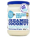 Lucy Bee Organic Fair Trade Raw Creamed Coconut 500g